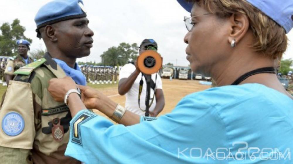 Côte d'Ivoire: ONUCI, 650 casques bleus Nigériens quittent le pays