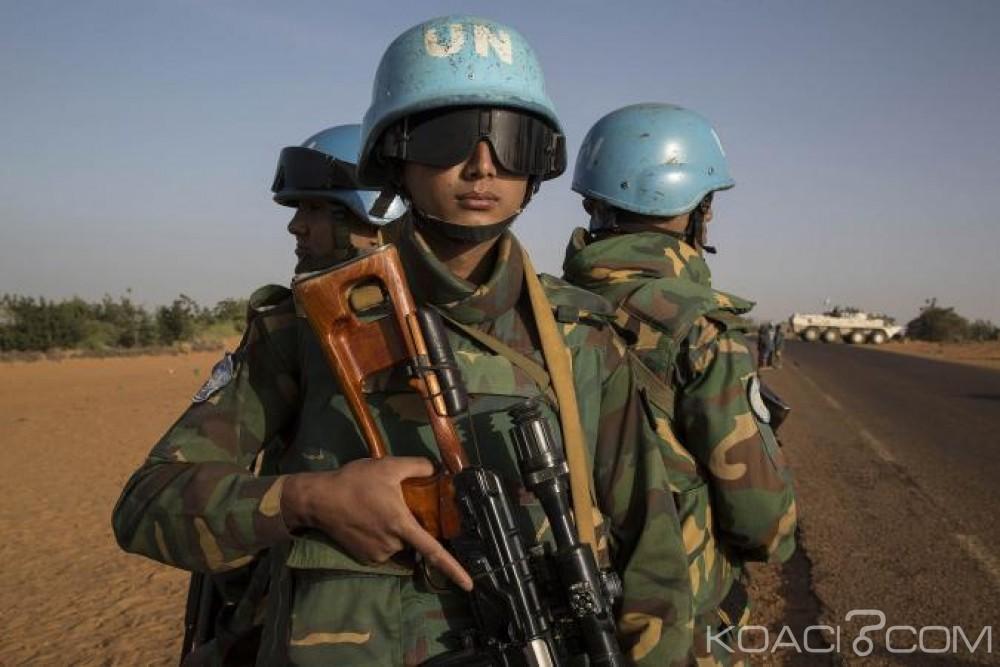 Centrafrique:  Un  casque bleu  bangladais  tué dans une attaque armée à Bokayai