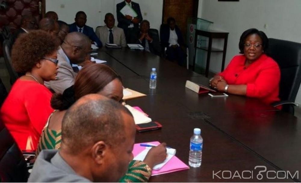 Côte d'Ivoire: Anne Ouloto prévient les  collaborateurs de son prédécesseur: «On n'aura pas le temps pour gérer des humeurs»