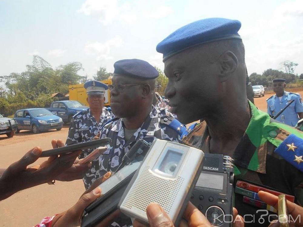 Côte d'Ivoire: Daloa, le chef d'Etat-major à la rencontre de ses hommes n'a pas évoqué la question des primes, les  gendarmes  rappelés à leur rôle régalien
