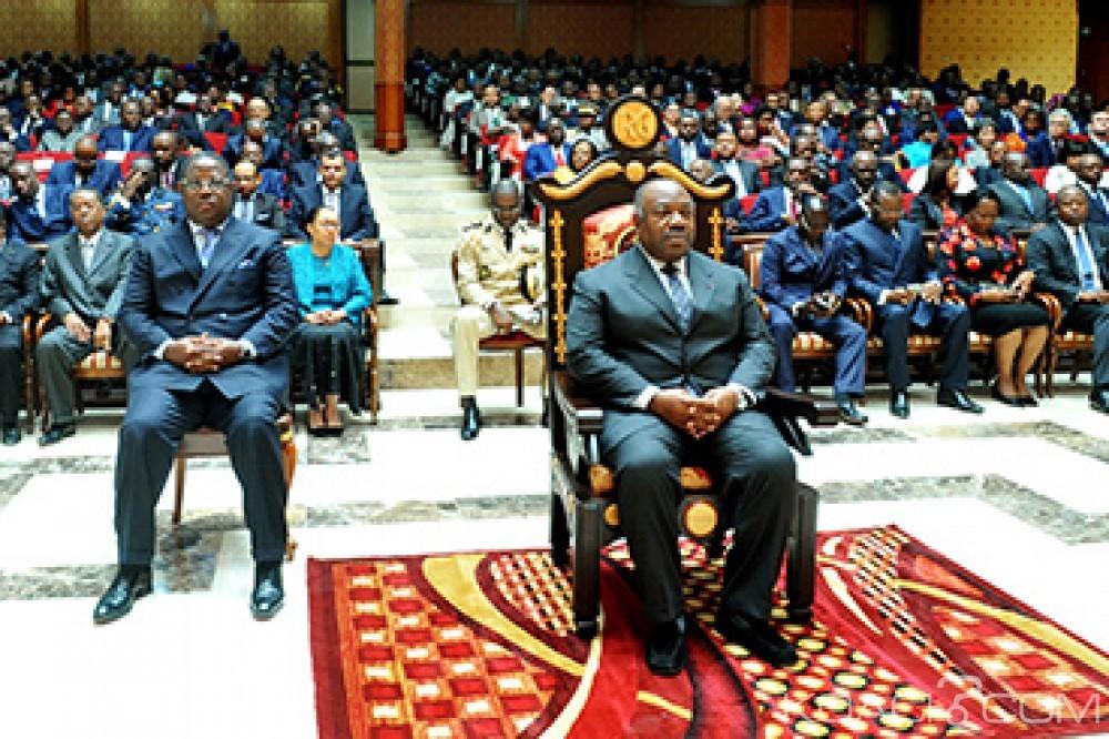 Gabon: Bongo au premier rang de la rentrée solennelle de la Cour constitutionnelle qui annonce «de grands travaux de réécriture des textes»