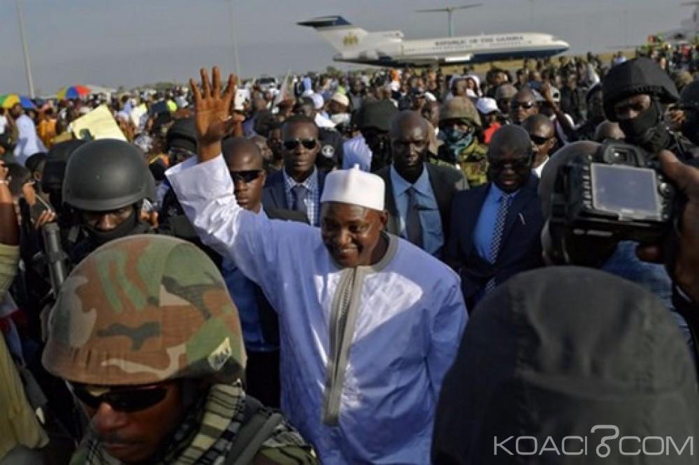 Gambie: Prise de fonction officielle pour Barrow le 18 févier, Jammeh offre ses bons services