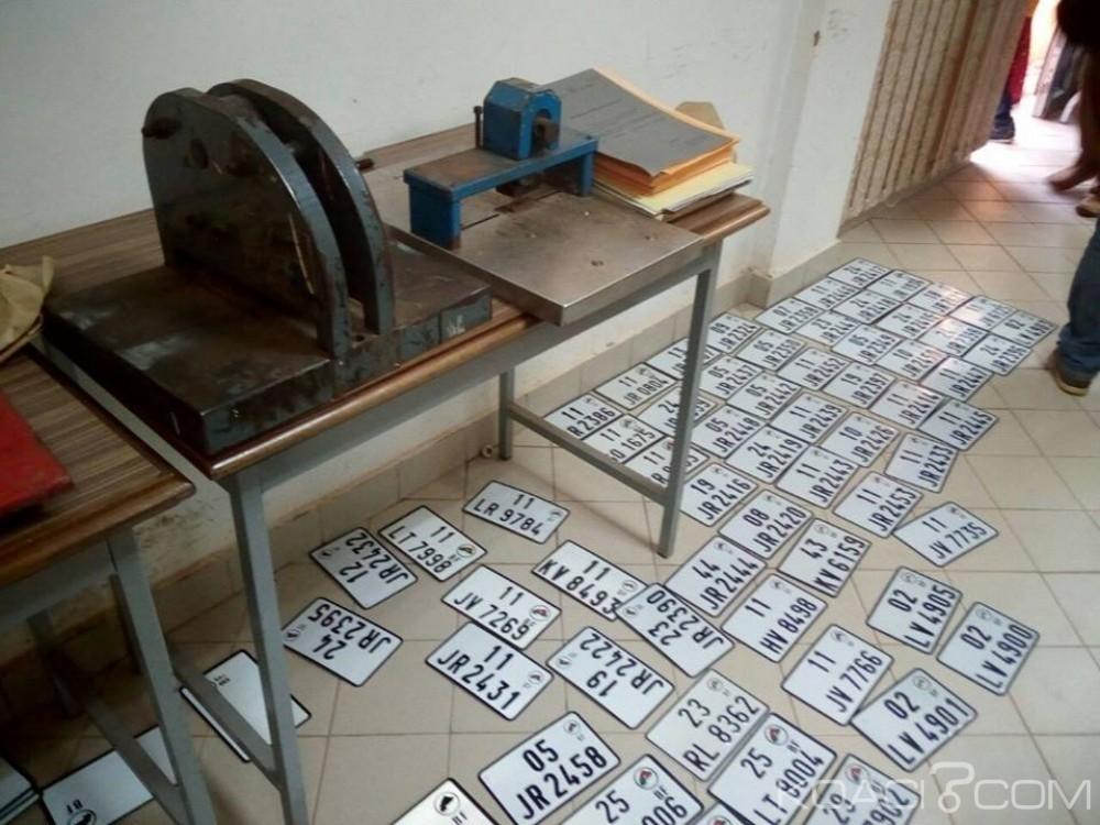 Burkina Faso: Des faussaires de documents et de plaques d'immatriculation arrêtés