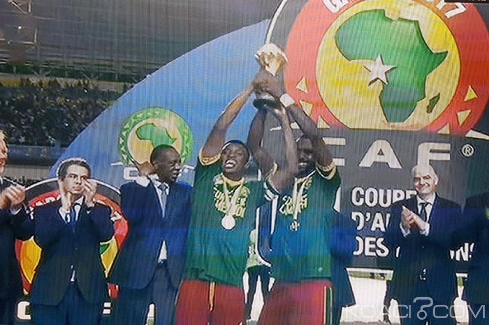 CAN 2017: 2 à 1 en finale face à l'Egypte, le Cameroun nouveau champion d'Afrique
