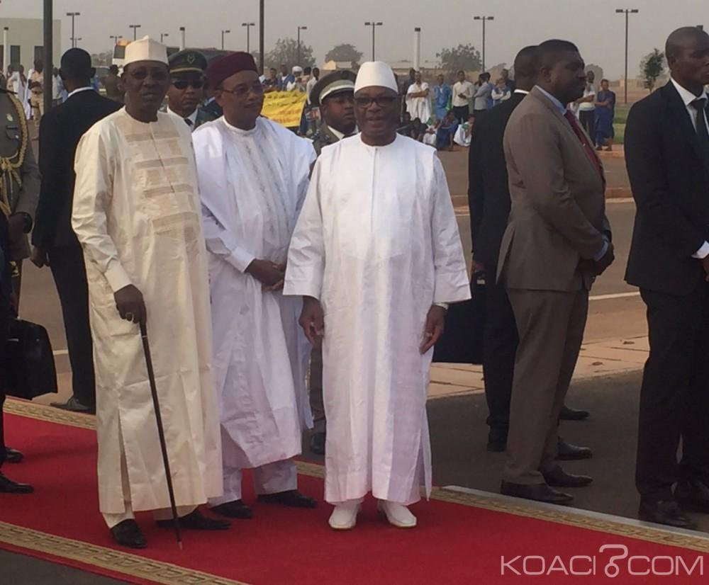 Mali: Réunion à Bamako des Chefs d' Etats du G5 Sahel  sur la sécurité
