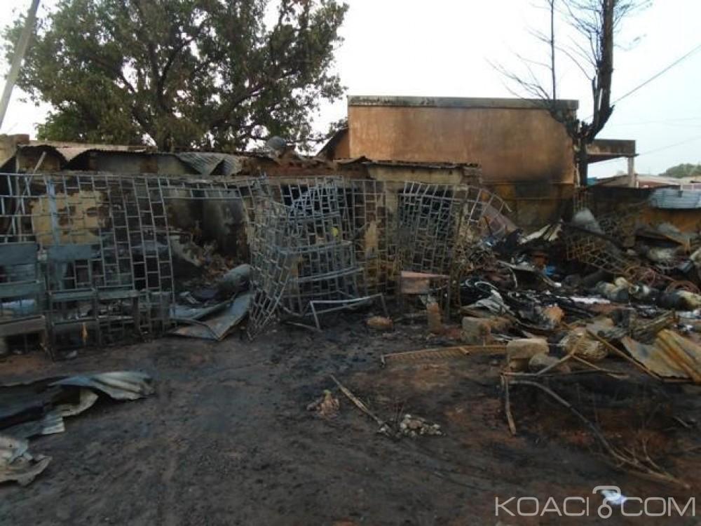 Burkina Faso: 6 boutiques et une maison consumées lors d'un incendie à Banfora