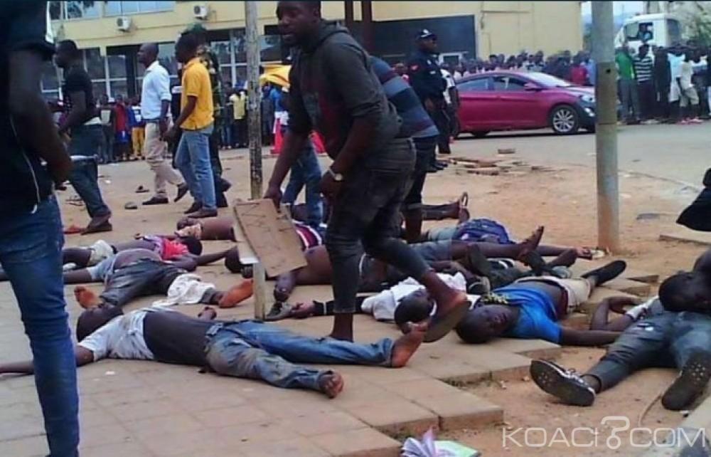 Angola:  Bousculade à l'entrée d'un stade lors d'un match de foot , 17 morts au moins