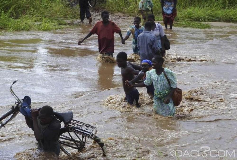 Mozambique:  Le cyclone Dineo menace les côtes