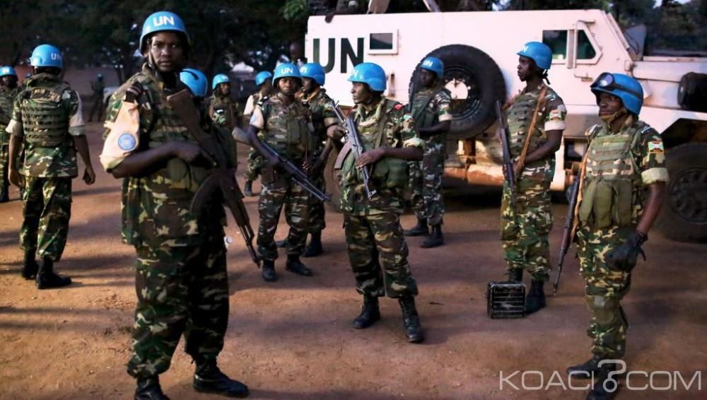 Centrafrique: Quatre casques bleus blessés à Ippy par  une faction de la Séléka