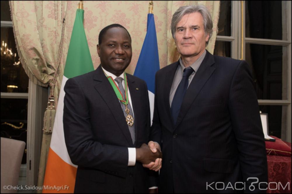 Côte d'Ivoire: Le ministre Mamadou Sangafowa Coulibaly distingué Commandeur dans l'ordre du mérite agricole