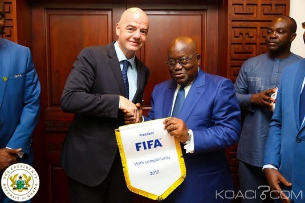 Ghana: Akufo-Addo demande des réformes pour le football ghanéen et africain