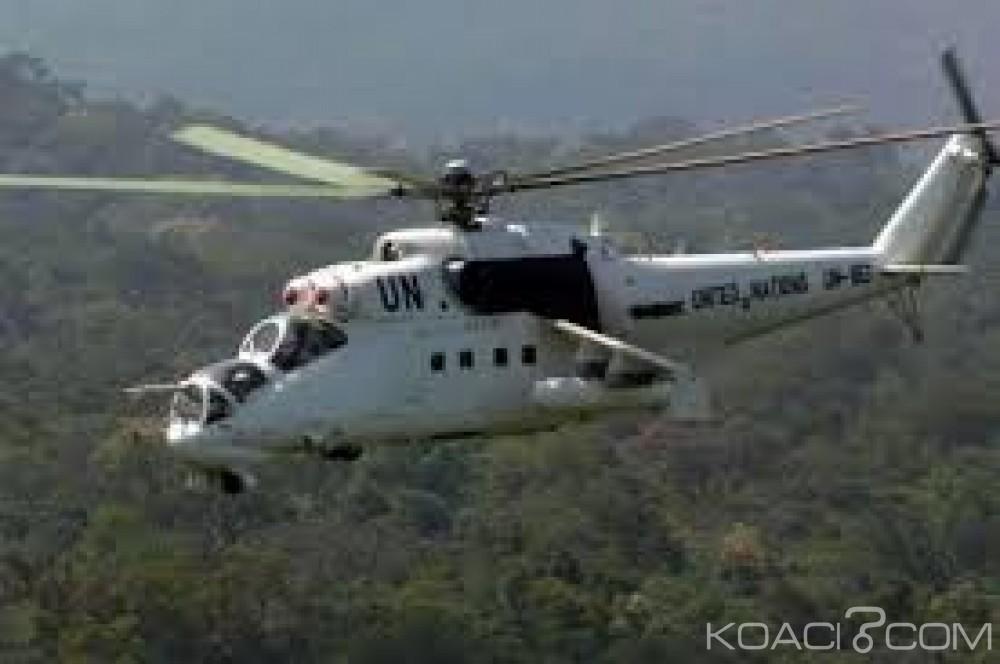 Centrafrique: Bambari, un rebelle tué et sept blessés  dans des frappes aériennes de l'ONU