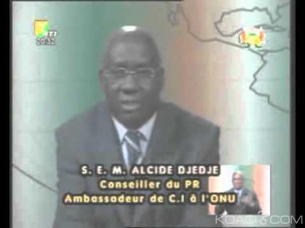 Côte d'Ivoire: Ministère des affaires étrangères, Alcide Djédjé nommé au cabinet d'Amon Tanoh