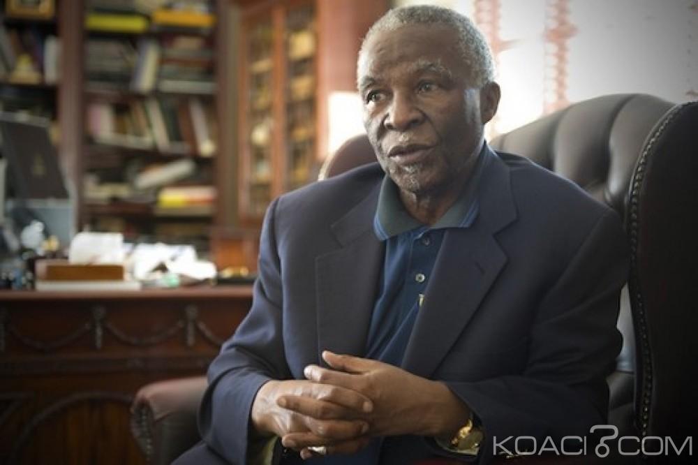 Afrique du Sud: Attaques xénophobes, Thabo Mbeki appelle ses compatriotes à se rappeler du passé