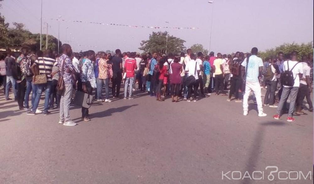 Côte d'Ivoire: Un étudiant tué à Bouaké, ses camarades  dans la rue pour protester contre l'insécurité, l'école paralysée