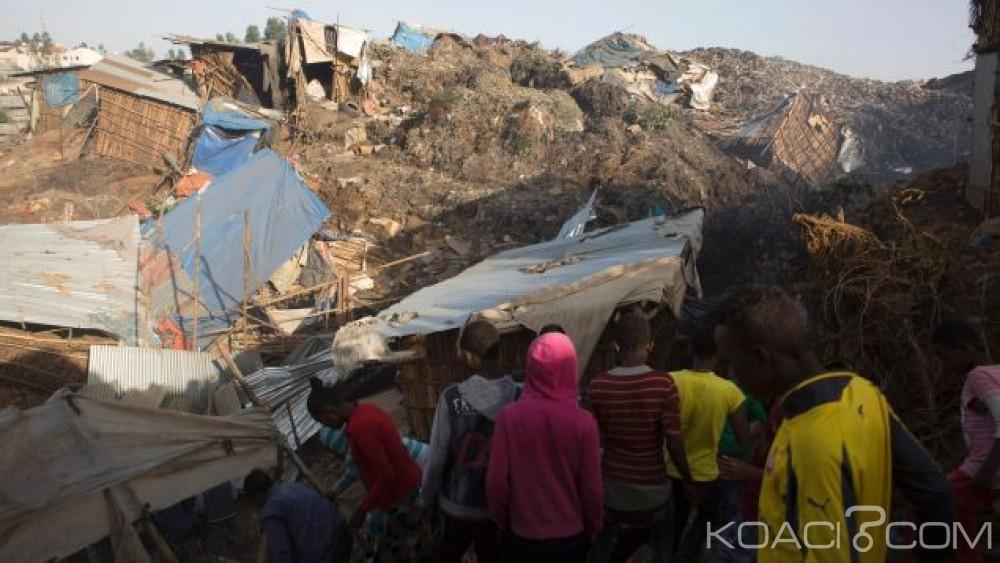Ethiopie: Éboulement meurtrier dans une décharge, le bilan monte à 63 morts