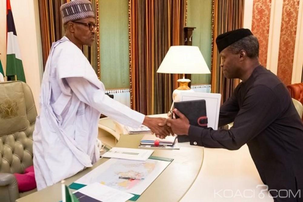 Nigeria: Buhari a repris ses fonctions de Président, l'intermédiaire Osinbajo «s'efface»