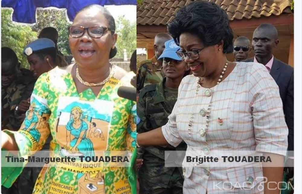 Centrafrique: Brigitte et Tina Touadéra, la bataille de l'ombre pour la place de première dame