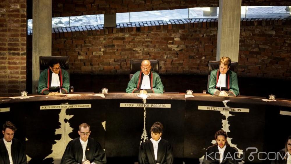 Afrique du Sud: Braquage dans les locaux de la  Cour constitutionnelle