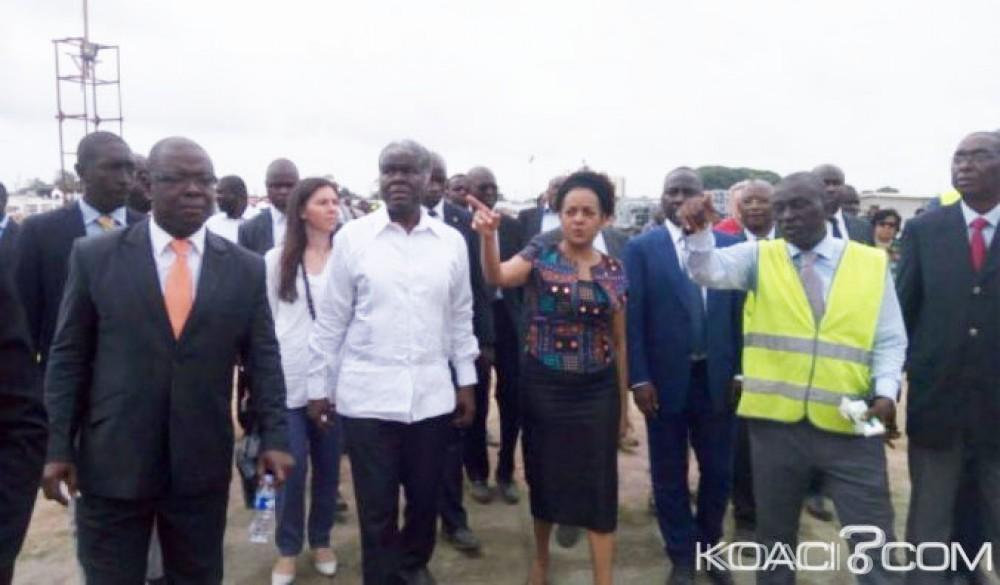 Côte d'Ivoire: 8ème jeux de la francophonie, Michaëlle Jean SG de l'OIF, juge «satisfaisante» l'avancée des travaux