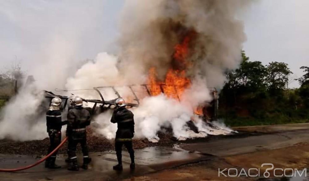 Côte d'Ivoire: Incendie, 35 tonnes d'anacarde partent en fumée sur l'axe Yamoussoukro-Tiébissou