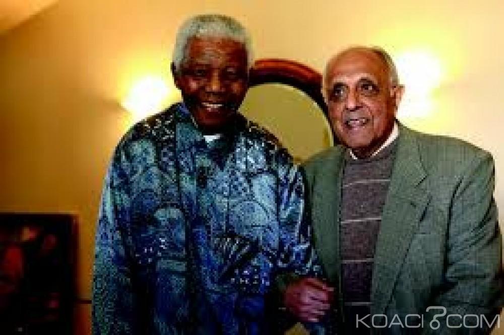 Afrique du sud: Décès du compagnon de cellule de Nelson Mandela, Ahmed Kathrada