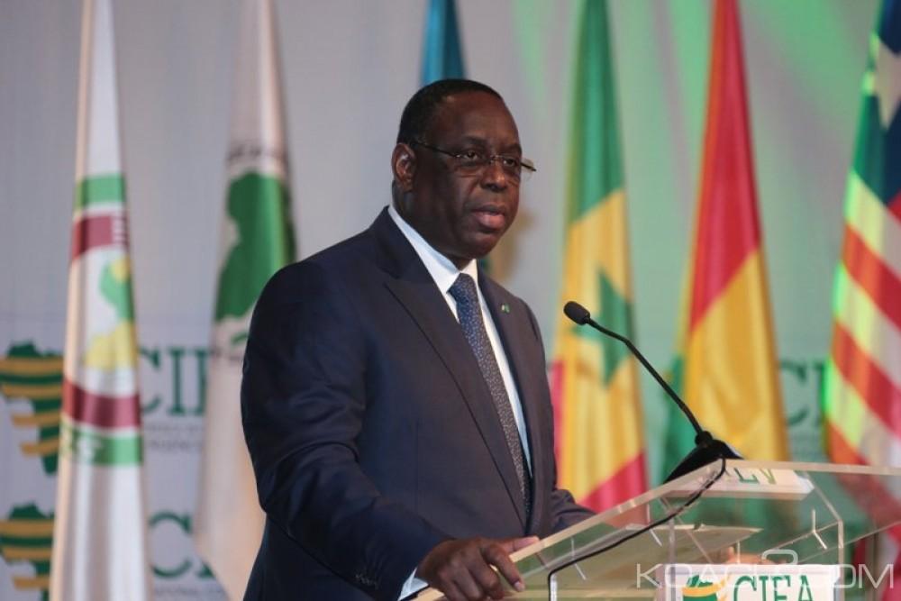 Côte d'Ivoire-Sénégal:  Forum International de l'Emergence, Macky Sall:  «Sur le chemin de l'émergence, (…) c'est des habitudes à remettre en cause»