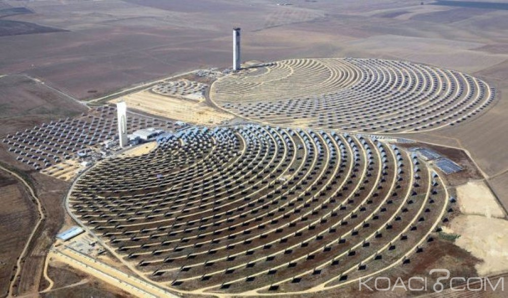 Koacinaute:  Le Roi du Maroc lance les travaux de réalisation de la 4ème centrale du complexe solaire Noor Ouarzazate