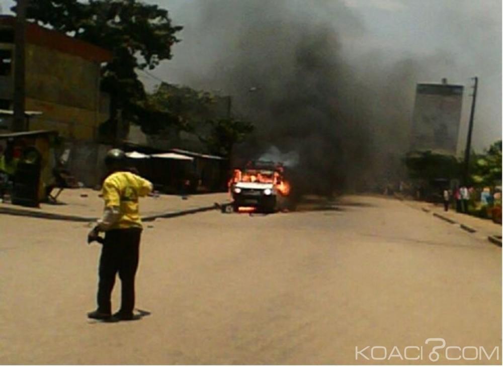 Bénin:  Des maisons partent en fumée à Abomey  Calavi