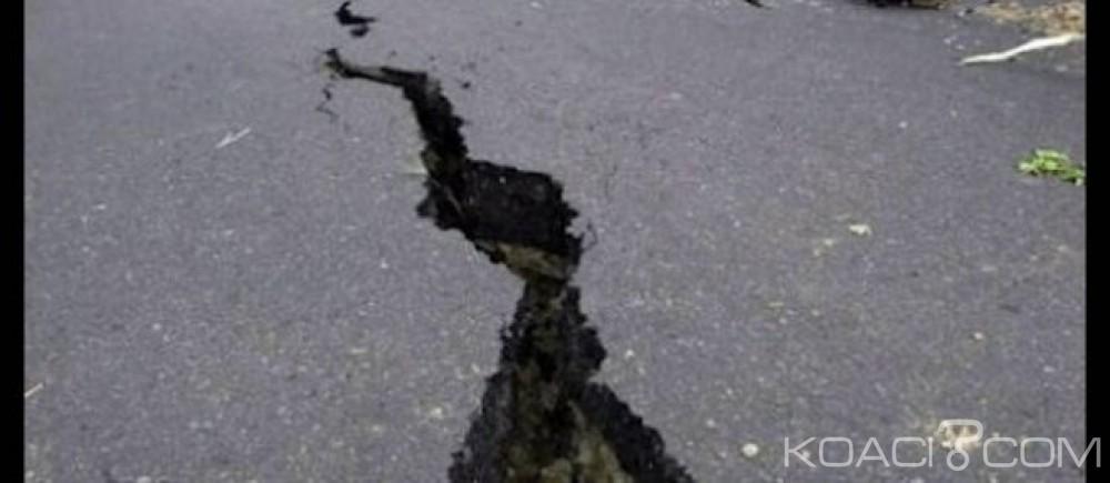 Botswana: La terre a tremblé,séisme de magnitude 6,5