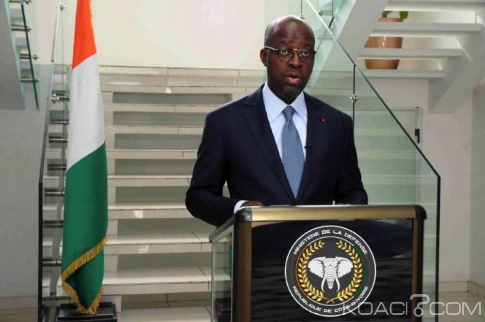 Côte d'Ivoire: « Il n'y a plus de mines antipersonnel en Côte d'Ivoire », confirme le ministre de la défense, Alain Richard Donwahi