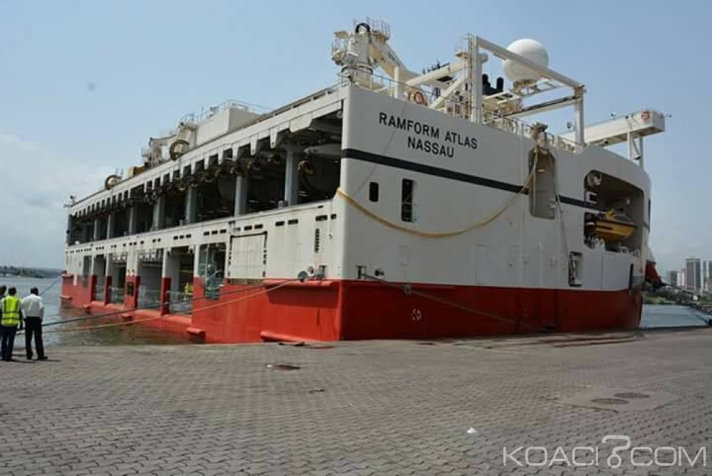 Côte d'Ivoire: Un Navire de recherches scientifiques accoste au port d'Abidjan