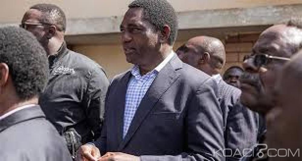 Zambie: Le chef de l'opposition  Hichilema arrêté pour avoir bloqué le convoi présidentiel