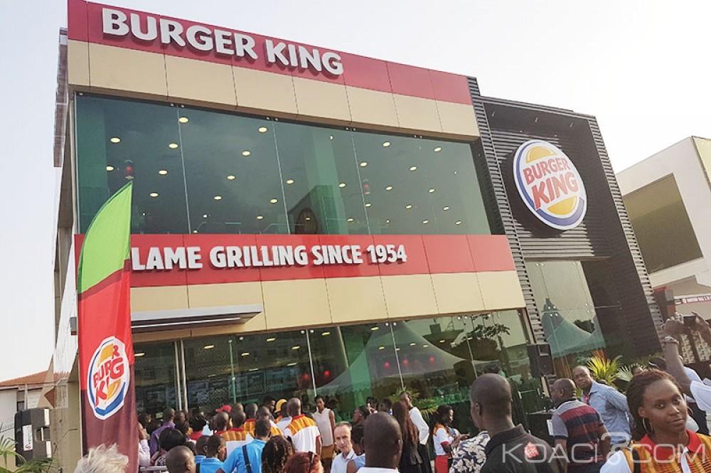 Côte d'Ivoire: Burger King ouvre son 4ème restaurant avec un service «Drive»