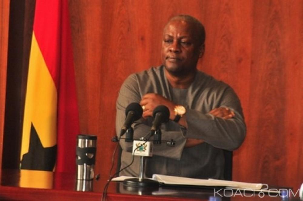 Ghana : «Récupérations de biens», Mahama invite Akufo-Addo à élever sa gouvernance