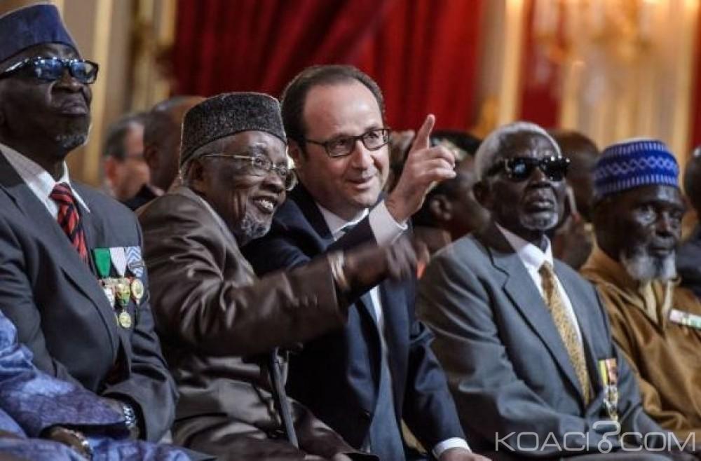 Afrique: Hollande a réintégré solennellement 28 tirailleurs sénégalais dans la nationalité française