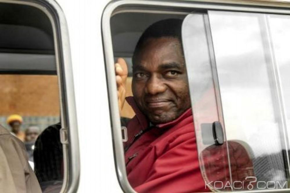 Zambie: Maintenu en prison pour trahison,  Hakainde Hichilema  risque 15 ans de prison