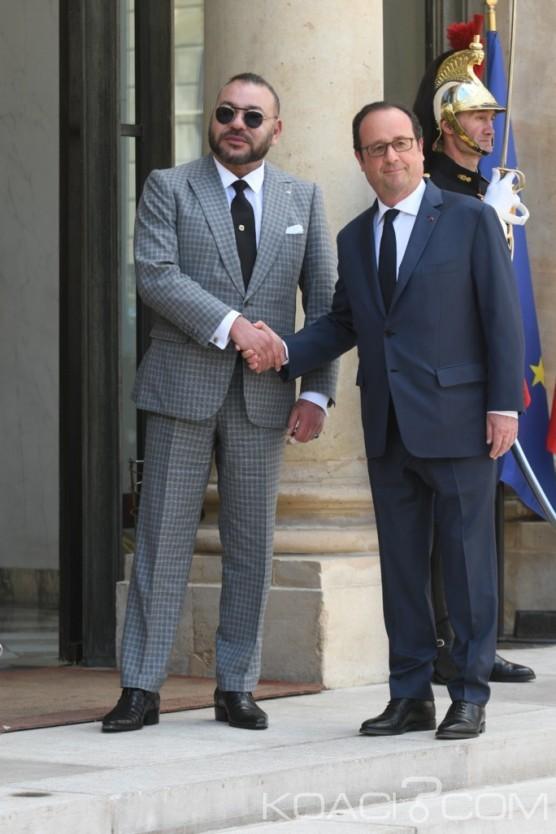 Koacinaute:   Le Roi du Maroc reçu à l'Elysée, nouveau témoignage de la relation d'exception qui lie la France et le Maroc.