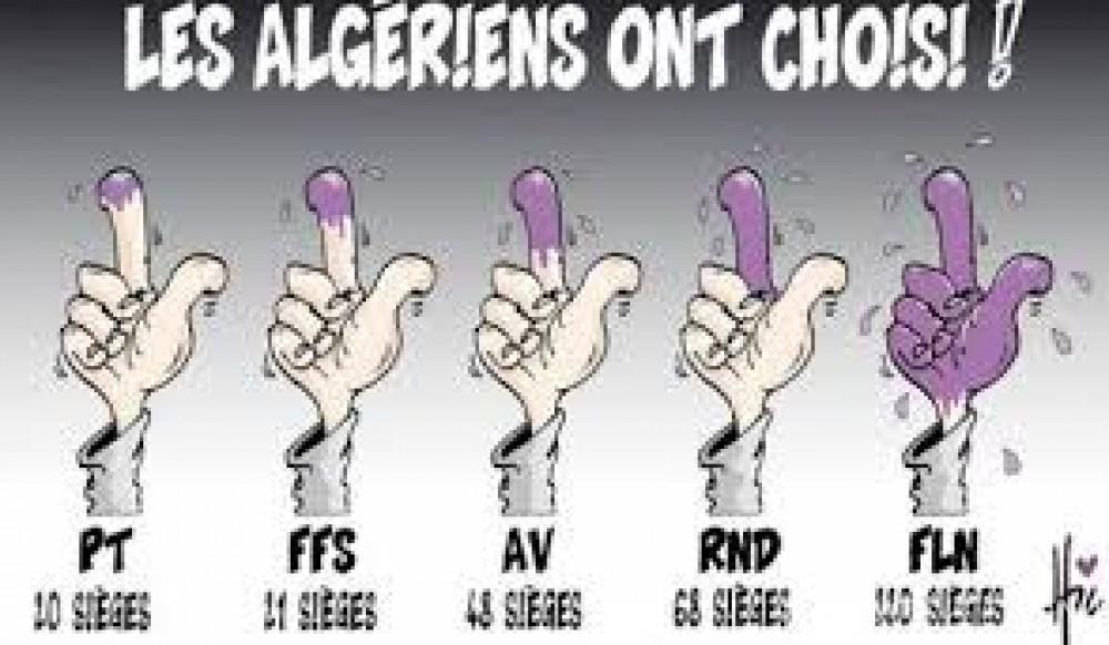 Koacinaute:  Législatives algériennes 2017 : un scrutin pour rien !