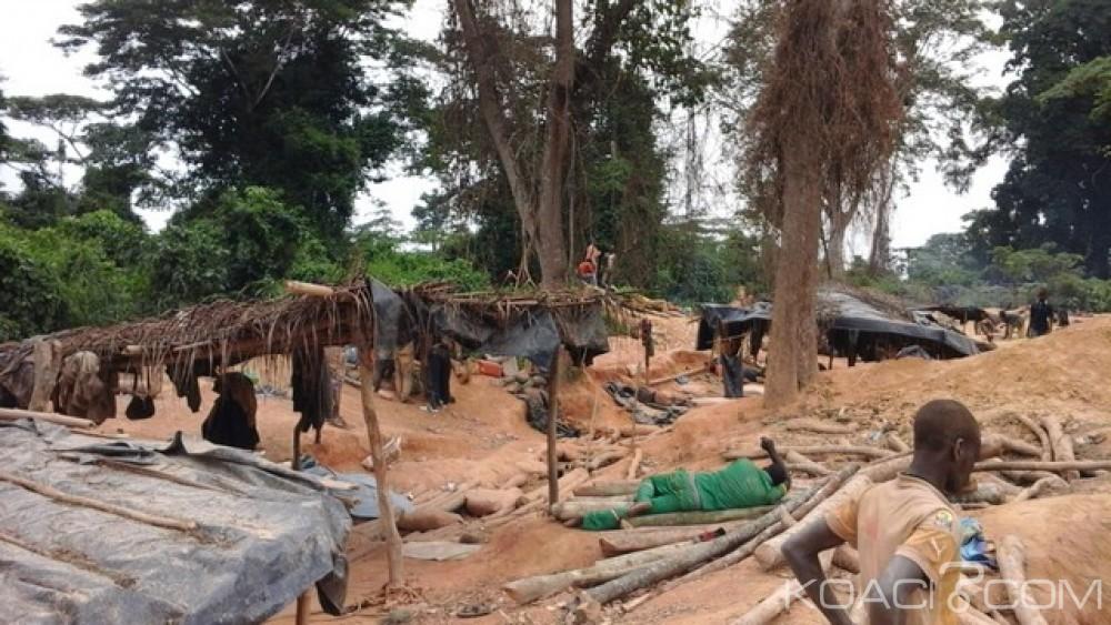 Côte d'Ivoire:  Violence et désobéissance, des orpailleurs clandestins font 10 blessés lors d'une fusillade