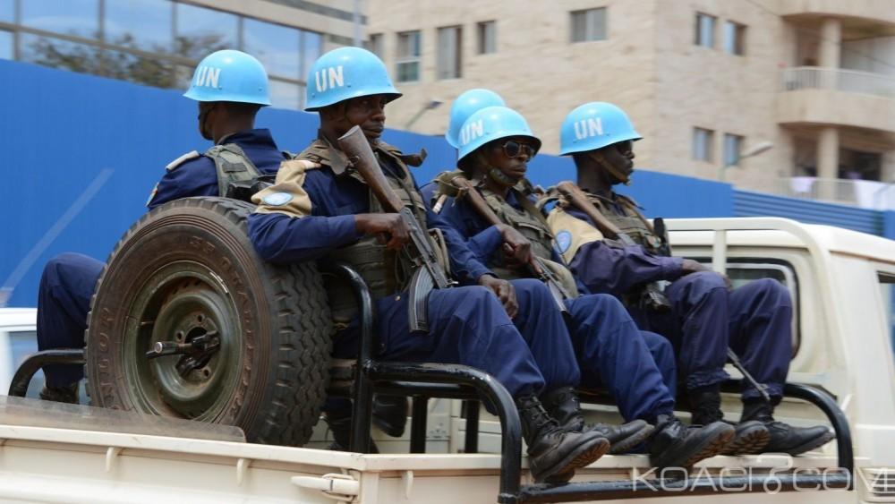 Centrafrique:  Un casque bleu cambodgien tué et huit blessés dans l'attaque de leur convoi