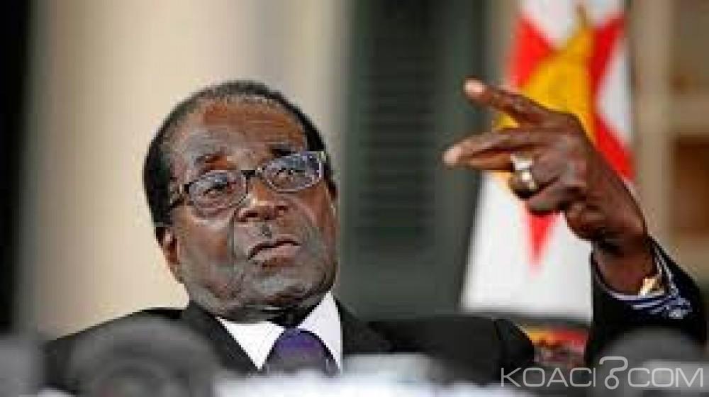 Zimbabwe:  Robert Mugabe s'envole pour Singapour  pour ses soins médicaux