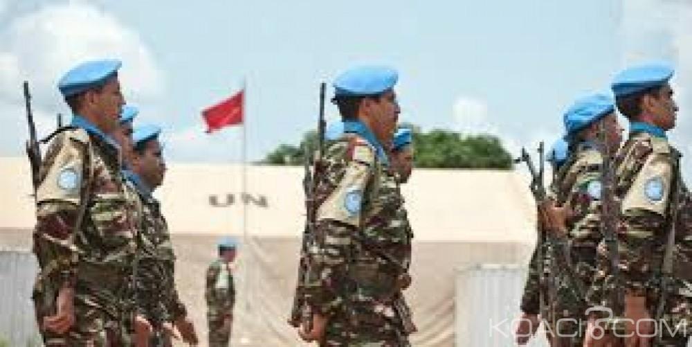 Centrafrique: Un soldat marocain  porté disparu suite à l'attaque contre un convoi de l'ONU