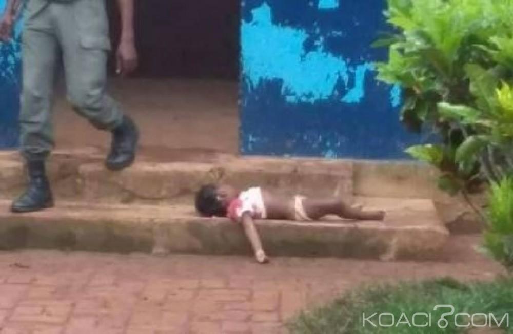 Congo: Une fillette de trois ans abattue par erreur par des policiers à Mouyondzi