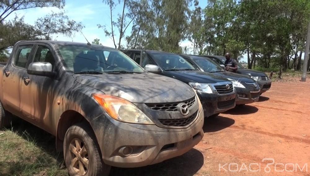 Côte d'Ivoire: San Pedro, les véhicules administratifs volés par les mutins remis aux autorités