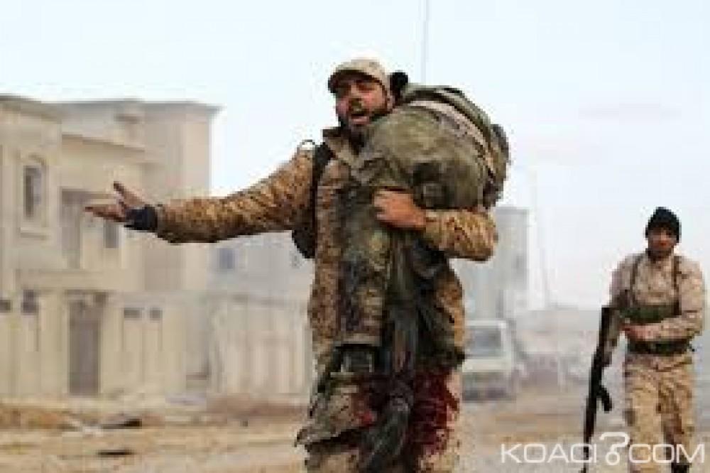 Libye: 141 morts dans l'attaque d'une base contrôlée par les forces du Maréchal Haftar