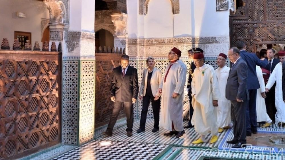 Koacinaute :La réhabilitation des monuments de l'ancienne médina de Fès, une des priorités du Roi du Maroc