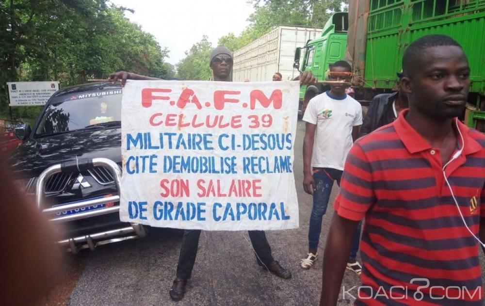 Côte d'Ivoire: Soulèvement des démobilisés, des passifs à solder liés à la crise post-électorale pour le gouvernement