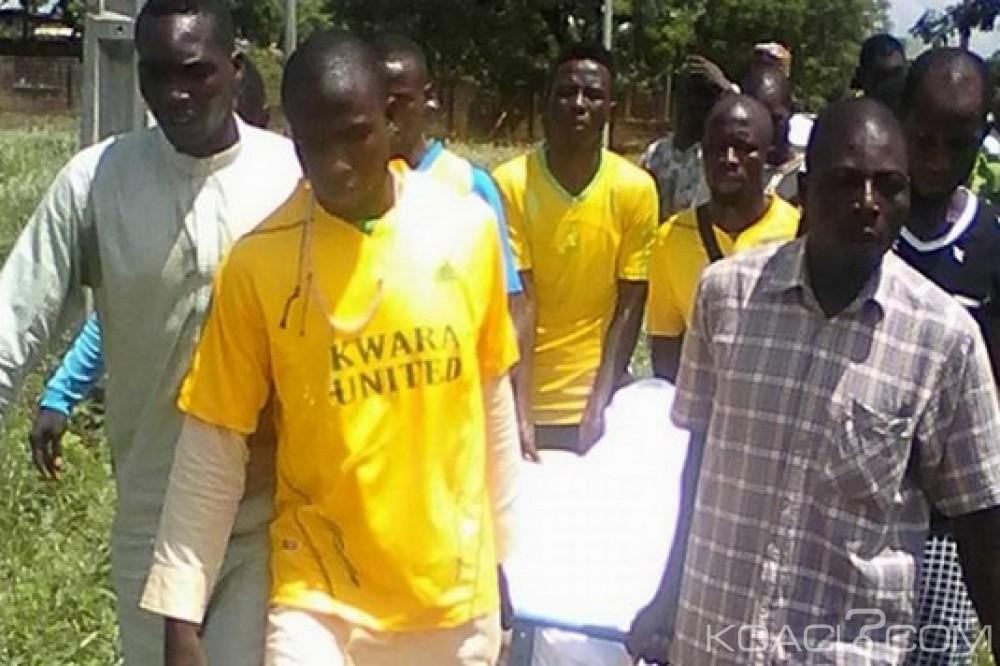 Nigeria: Décès d'un joueur du club Kwara United à l'entrainement