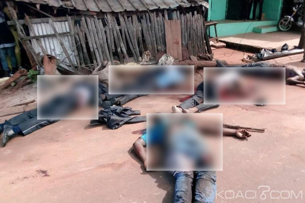 Côte d'Ivoire: Drame à Arrah, des employés d'une entreprise funéraire confondus avec des braqueurs, 6 morts